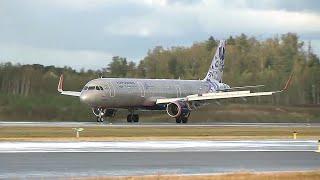 В аэропорту Шереметьево на третьей взлетно посадочной полосе приземлился первый самолет.