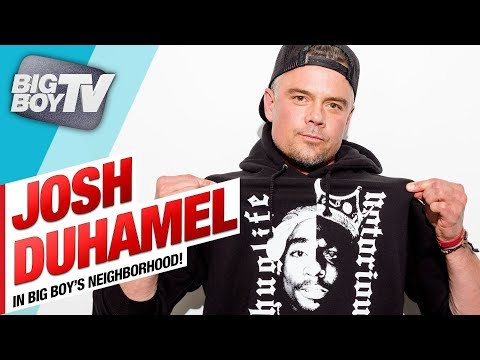 Josh Duhamel on Tupac & Biggie Series, 'Unsolved', Fergie's Anthem Performance & a Lot More!!