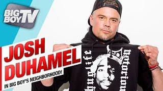 Josh Duhamel on Tupac & Biggie Series, 'Unsolved', Fergie's Anthem Performance & a Lot More!!