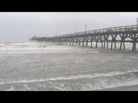 Hurricane Florence hits Grand Strand