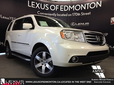 Used White 2012 Honda Pilot 4WD Touring Review   Spruce Grove Alberta