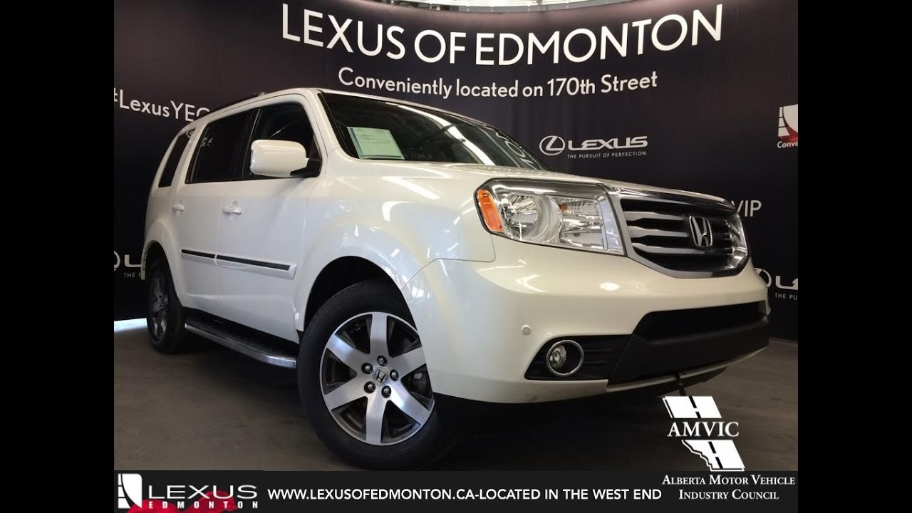 Used White 2012 Honda Pilot 4WD Touring Review | Spruce Grove Alberta