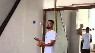 #15. 180, полу-пируэт (видео уроки по жонглированию от ПГ)
