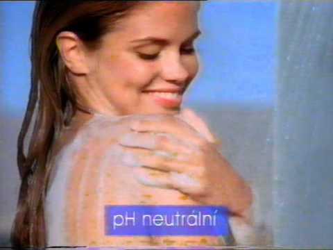 Neutralia - shower gel / sprchový gel - old TV commercial from 1995 / stará reklama z roku 1995