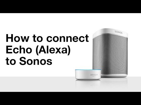 Play same music on echo dot and sonos
