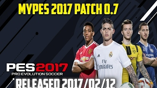 PES 2017 | MyPES 2017 Patch 0.7 AIO (DP 3.0 added) -  12/02/2017 TORRENT [PC]