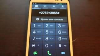 Faille Galaxy S3 - Exécution des codes USSD