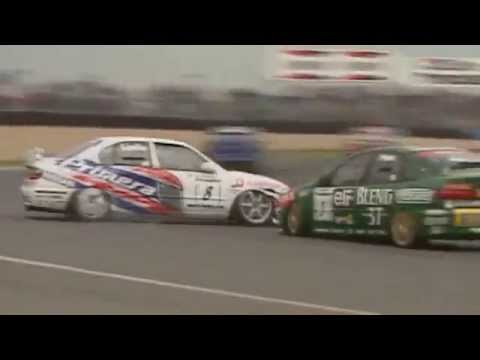 BTCC 1998 Donington - Jason Plato vs David Leslie