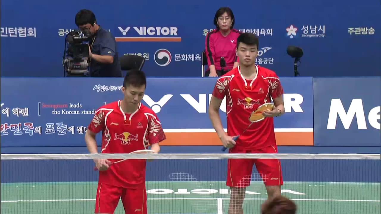 Victor Korea Open 2016 Badminton SF M2 MD