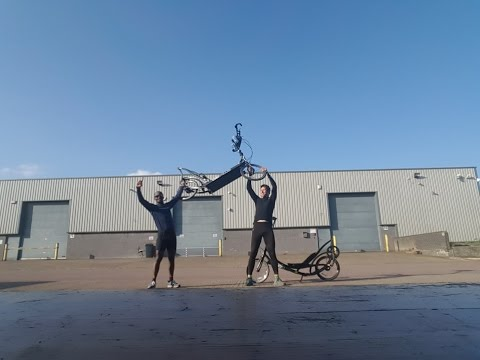 His 1st ever 200km ElliptiGO Audax Ride - after just 4 Weeks Training!