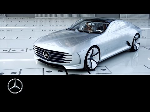 "Intelligent Aerodynamic Automobile – the ""Concept IAA"" - Mercedes-Benz original"