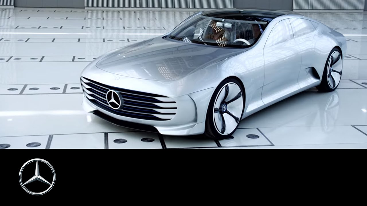 intelligent aerodynamic automobile the concept iaa mercedes benz original youtube. Black Bedroom Furniture Sets. Home Design Ideas