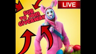 Fortnite Giveaway & Custom Matchmaking (Sub to Join)