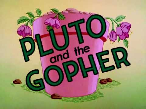 """PLUTO AND THE GOPHER"" (1950) - RECREATED TITLES.RELOADED ..."