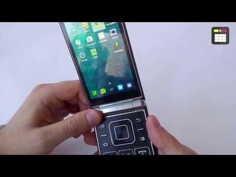 Раскладушка на Андроиде Samsung W2015 - Tangwei Tw2015 обзор!