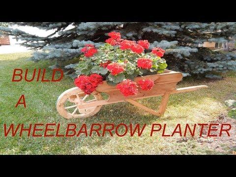 Wheelbarrow Planter