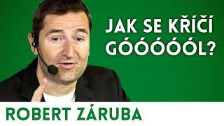 Diskuzní přednáška s Robertem Zárubou - Jak se křičí gól? | Přednáškový klub