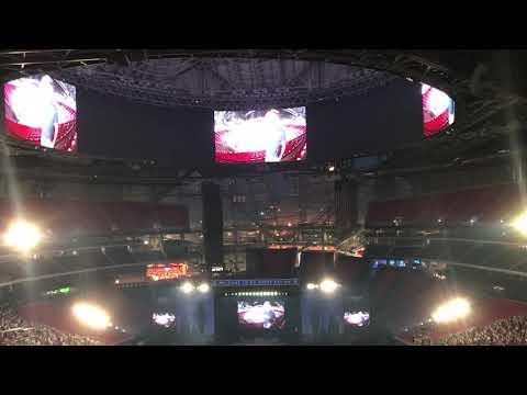 """Kenny Chesney Trip Around the Sun Tour Opening Atlanta, Georgia """"Beer in Mexico"""""""