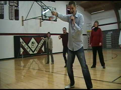 Atmosphere YM - Watford City High School Teacher Dance-Off