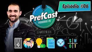 PrefCast #006 - De Estagiário a Diretor, É POSSÍVEL! - Podcast da Pref. de Paranavaí