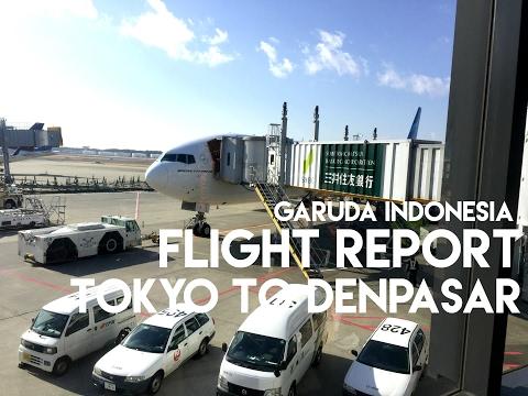 Flight Report Garuda Indonesia GA 881 | Tokyo to Denpasar | Boeing 777-300ER | January 2017