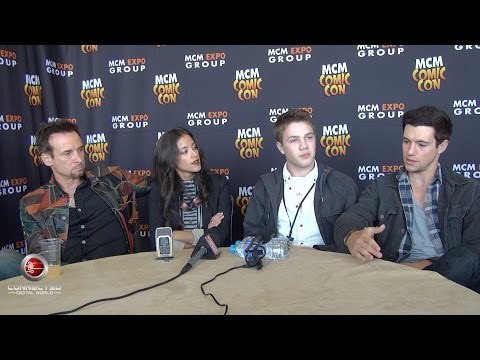 Falling Skies Cast Exclusive Interview at MCM Comic Con London