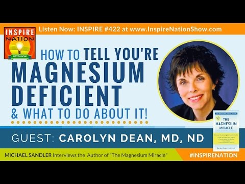 🌟 DR CAROLYN DEAN: How to Tell You're Magnesium Deficient & What to Do! The Magnesium Miracle