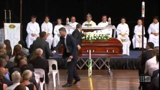 Michael Clarke's final Tearful speech to Phillip Hughes and eulogy of success