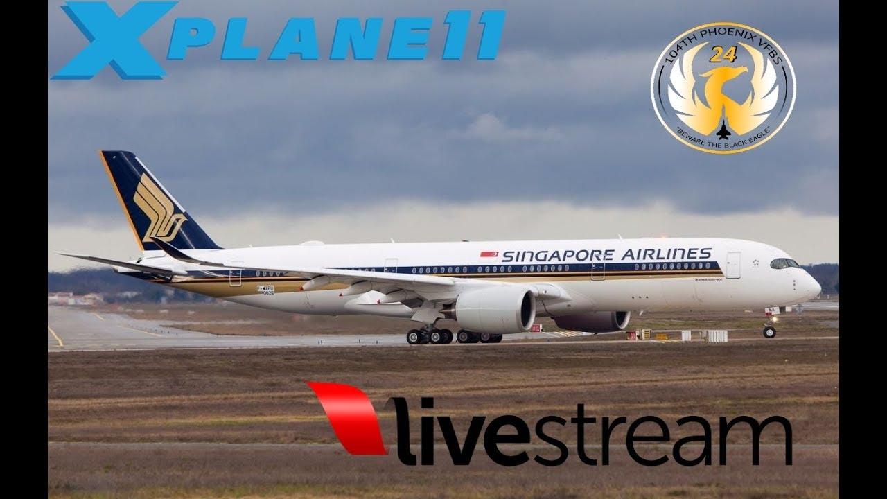 X-Plane 11 | 4K SUB CELEBRATION| XP ORG GIVEAWAY | Singapore