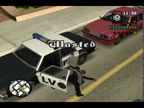 "GTA SA - ""Busted"" and ""Wasted"" at the same time (Las Venturas) - KC"