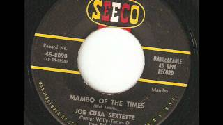 JOE CUBA SEXTETTE Mambo Of The Times SEECO