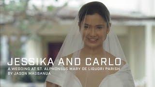 Jessika and Carlo: A Wedding at St. Alphonsus Mary de Liguori Parish