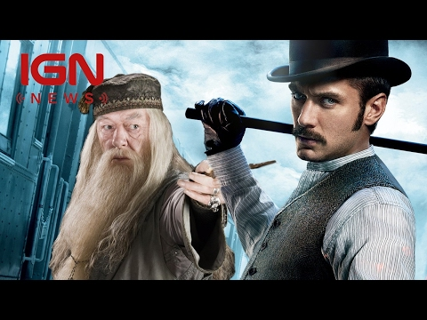 Jude Law Cast as Young Dumbledore in Fantastic Beasts Sequel - IGN News