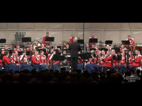 """OFFENBACH Galop from Geneviève de Brabant - """"The President's Own"""" United States Marine Band"""