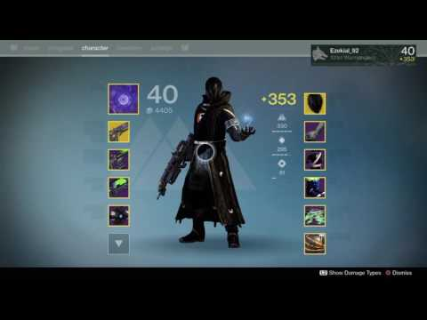 Destiny voidwalker build the hunger