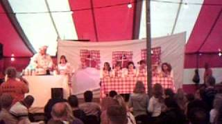 1e prijs Playbackshow zeskamp RKKSV 2009 - Moeders wil is wet