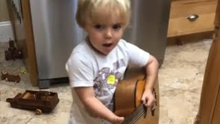 Adorable Youngster Covers Luke Combs Video