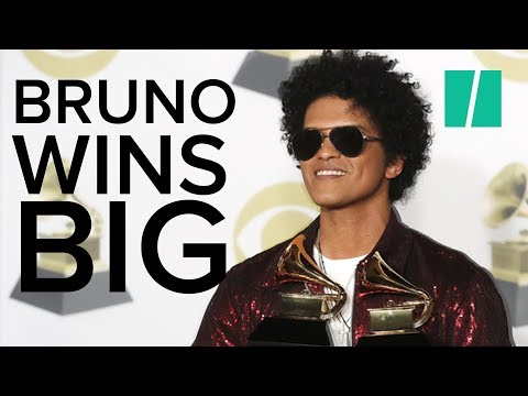 Bruno Mars Wins Seven Awards At The Grammys