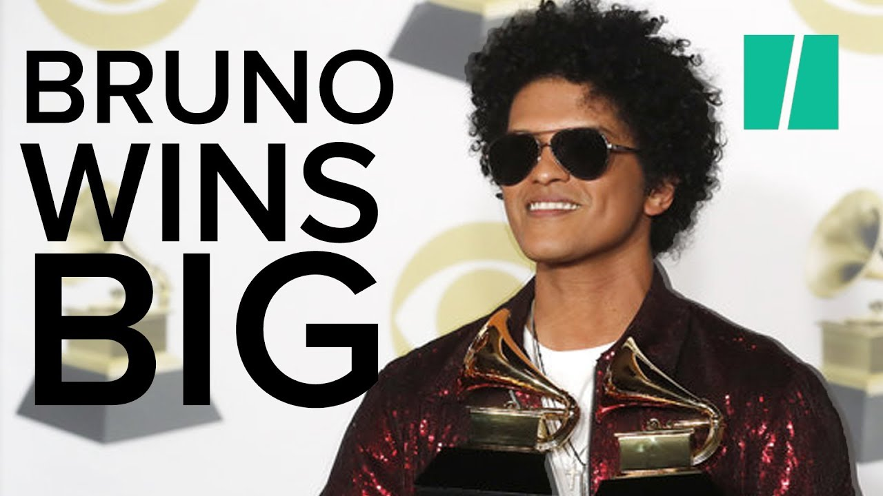 Download Bruno Mars Wins Seven Awards At The Grammys