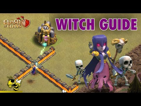 Advanced Witch Guide - Troop Behavior, Statistics, & More | Clash of Clans