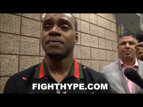 ERROL SPENCE JR. SAYS TERENCE CRAWFORD SHOWDOWN WILL HAPPEN SOON; LOOKS FORWARD TO GREAT SKILL FIGHT