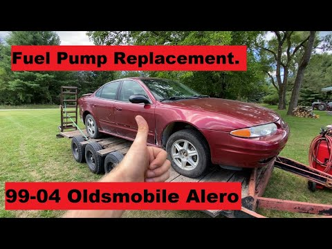 How to Replace Fuel Pump Oldsmobile Alero 99 00 01 02 03 04 1999 2000 2001 2002 2003 2004