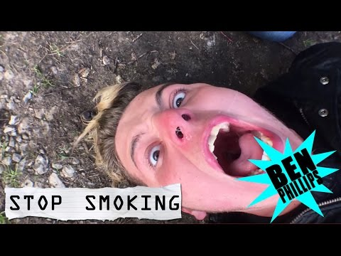 Ben Phillips | Stop Smoking PRANK!!! - Do not try this on your friends or Nan