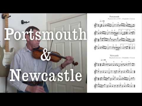 Portsmouth & Newcastle - Two tunes from the Playford Collection