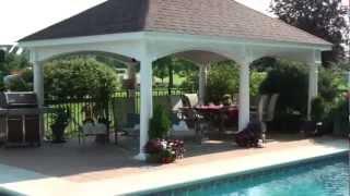 Backyard Unlimited's Hampton Pavilion