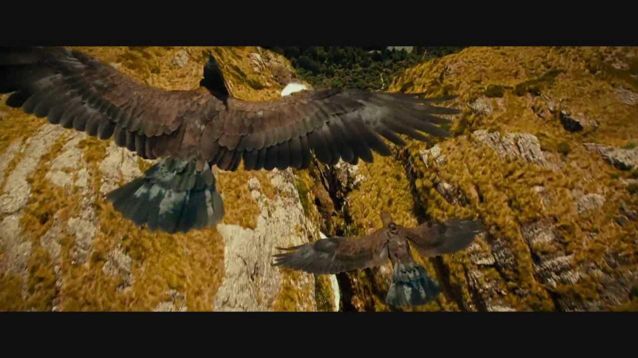 Windows 8 Wallpaper Hd 1080p 3d The Hobbit An Unexpected Journey Eagles Scene Youtube