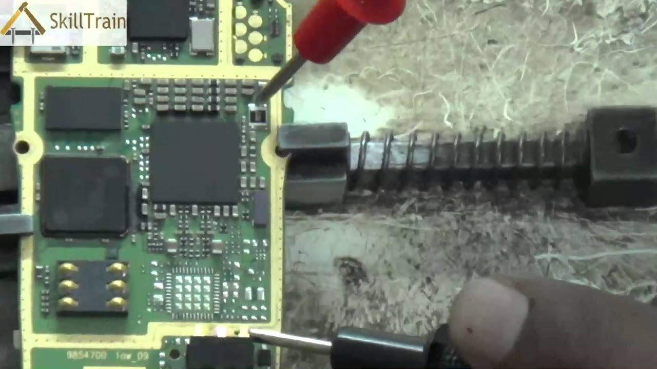 Tracing Testing of Mobile PCB Hindi YouTube