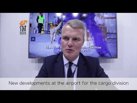 René Droese, Property Director, Budapest Airport, at Air Cargo Europe 2017