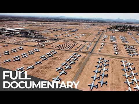 World's Biggest Airplane Junkyard & Living in a Graveyard | Mystery Places | Free Documentary
