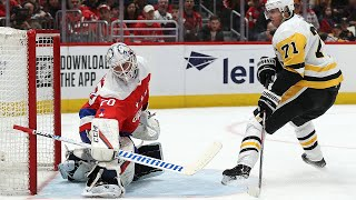 Evgeni Malkin carves through the defense to net a beauty